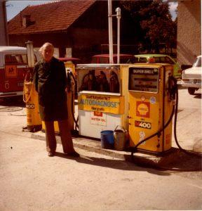 Alte Tankstelle Reisegger 1979
